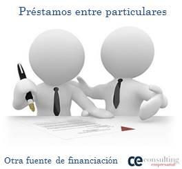 Los préstamos entre particulares como fuente de financiación