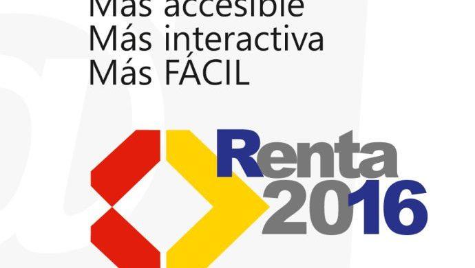 CALENDARIO DE LA CAMPAÑA DE LA RENTA 2016